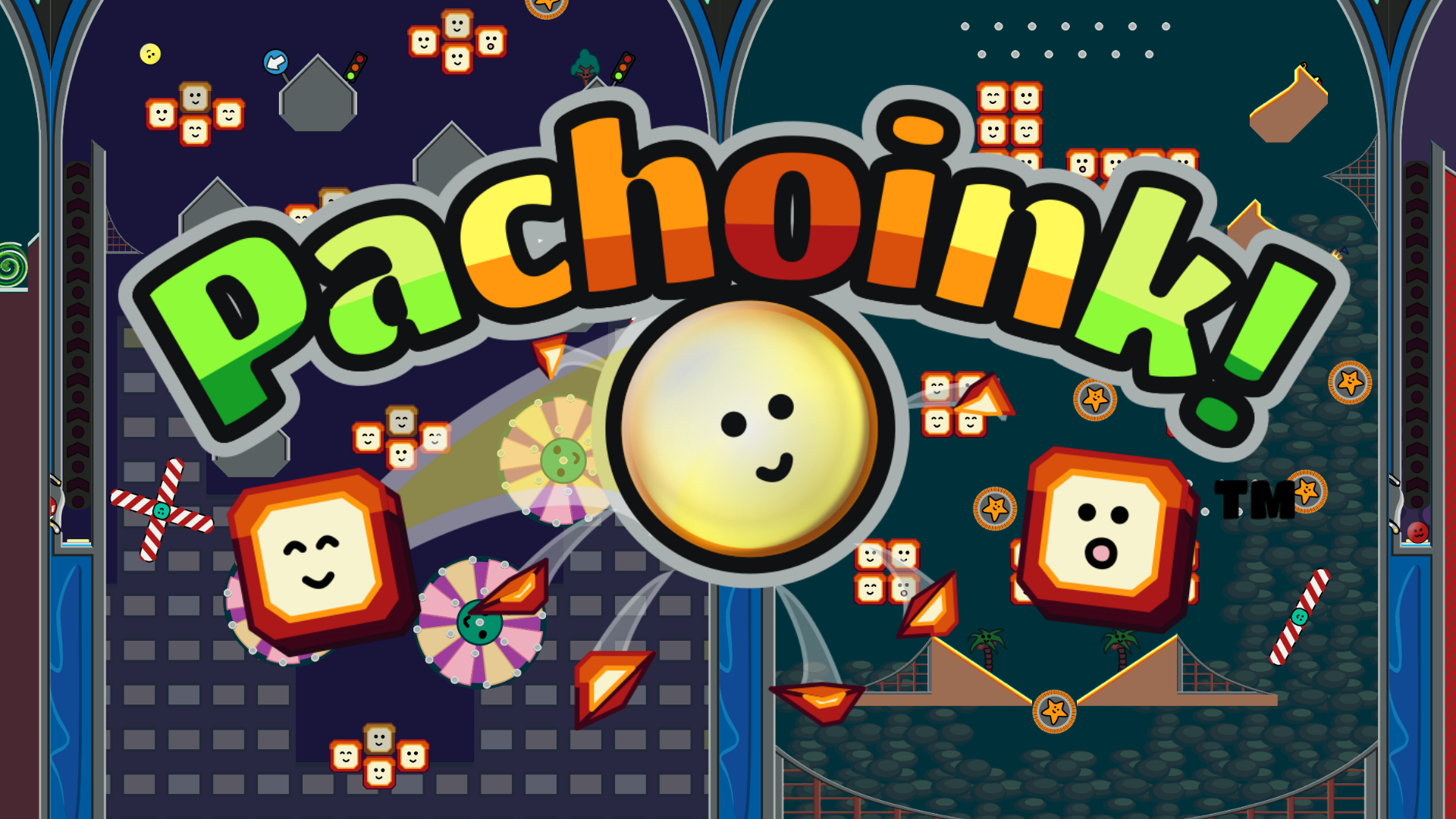 Pachoink! Alt logo with background